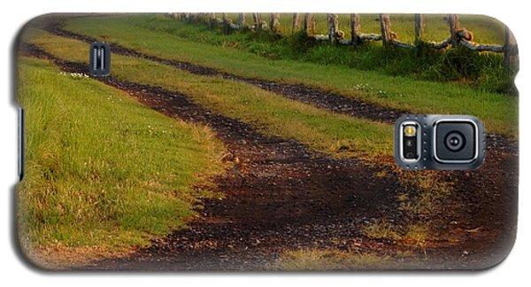 Long Dirt Road Galaxy S5 Case