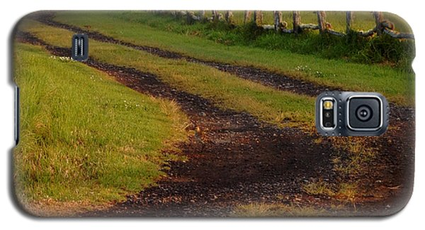 Long Dirt Road Galaxy S5 Case