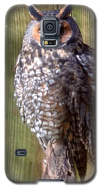 Galaxy S5 Case featuring the photograph Long Eared Owl by Joseph Skompski