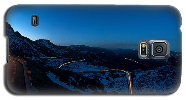 Long Exposure In Serra Da Estrela Portugal Galaxy S5 Case