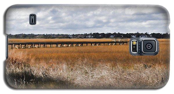 Long Marsh Dock Galaxy S5 Case