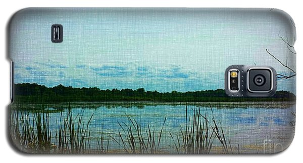 Galaxy S5 Case featuring the photograph Long Pond by Judy Via-Wolff
