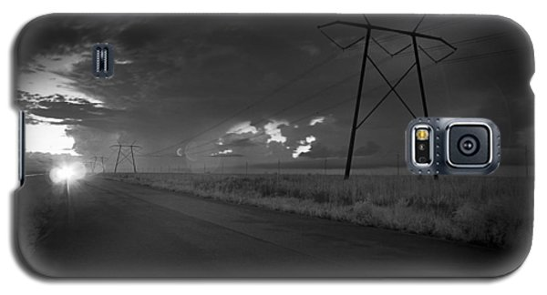 Galaxy S5 Case featuring the photograph Long Road Home by Bradley R Youngberg