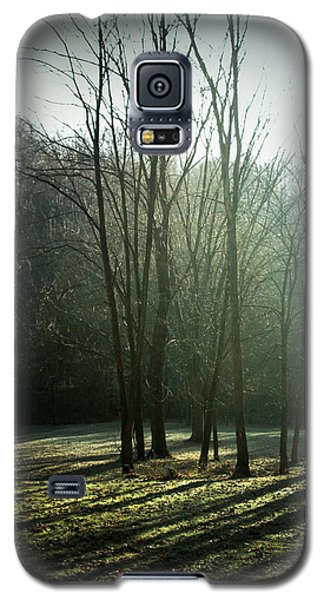 Galaxy S5 Case featuring the photograph Long Shadows by Cynthia Lassiter