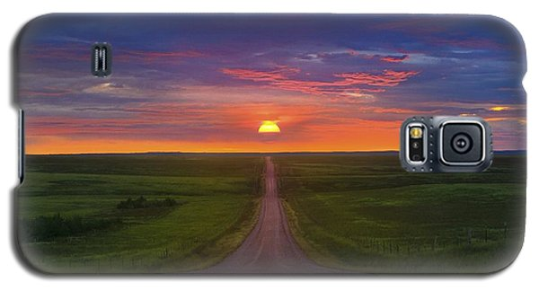 Galaxy S5 Case featuring the photograph Long Way To Go by Kadek Susanto