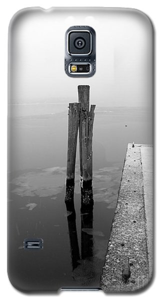 Galaxy S5 Case featuring the photograph Long Wharf - Sag Harbor New York by Robert Riordan