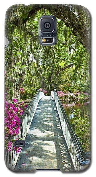 Long White Bridge Galaxy S5 Case by Bill Barber