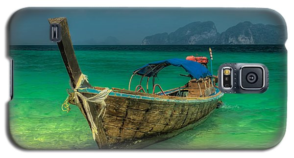 Longboat Galaxy S5 Case by Adrian Evans