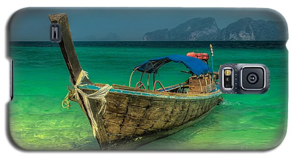 Longboat Galaxy S5 Case by Adrian Evans