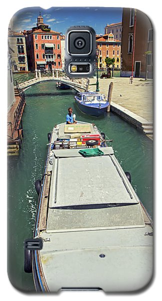 Longboat In Venice Galaxy S5 Case