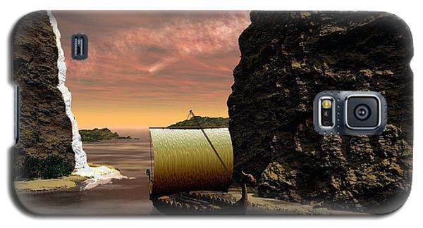 Longboat Galaxy S5 Case by John Pangia