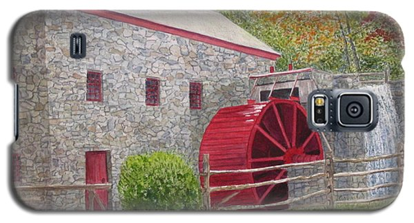 Longfellow's Gristmill Galaxy S5 Case by Carol Flagg