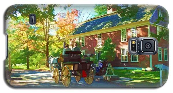 Longfellows Wayside Inn Galaxy S5 Case by Barbara McDevitt