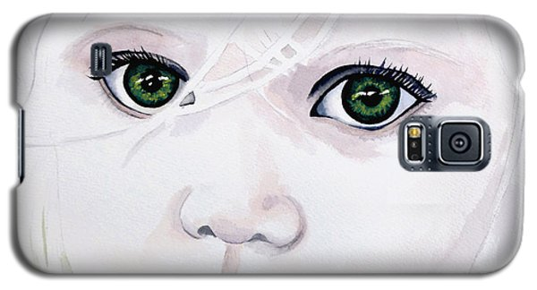 Longing Eyes Galaxy S5 Case