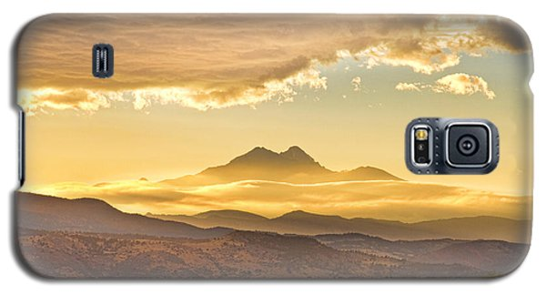Longs Peak Autumn Sunset Galaxy S5 Case by James BO  Insogna