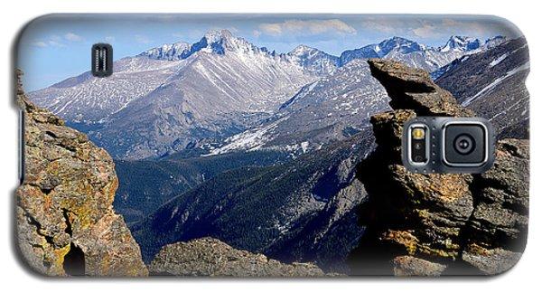 Long's Peak From The Rock Cut Galaxy S5 Case