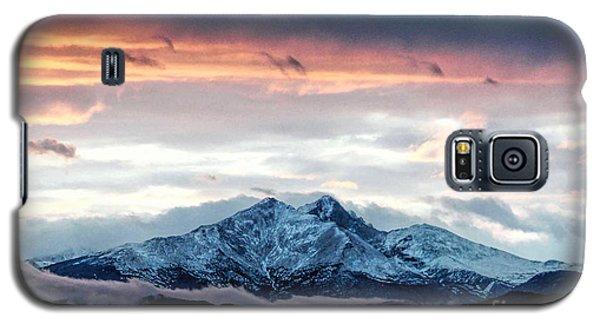Longs Peak In Winter Galaxy S5 Case