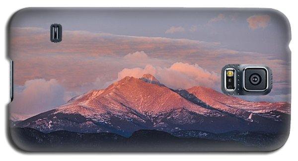 Longs Peak Sunrise Galaxy S5 Case