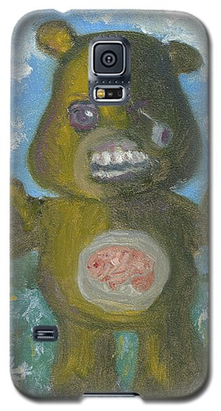 Galaxy S5 Case featuring the painting Look At The Flowers Walker by Jessmyne Stephenson