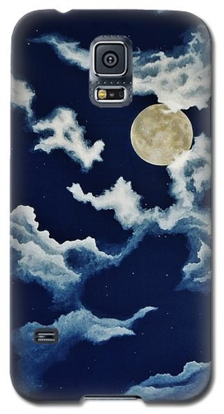 Look At The Moon Galaxy S5 Case by Katherine Young-Beck