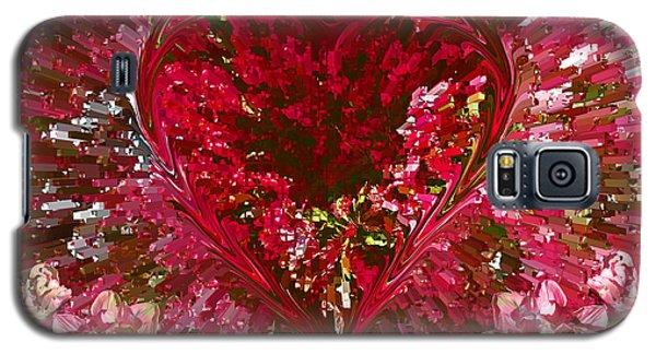 Look Deep Into My Heart Galaxy S5 Case by David Pantuso