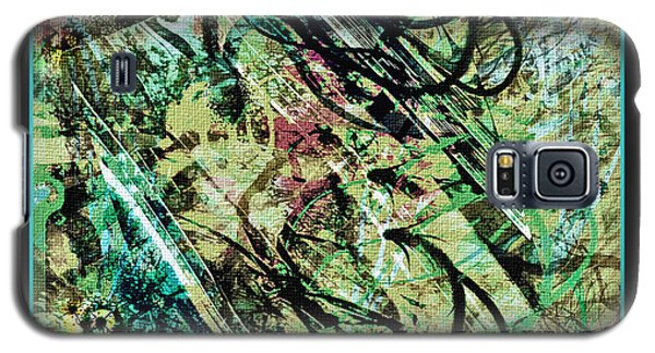 Galaxy S5 Case featuring the digital art Look For The Eye by Barbara MacPhail