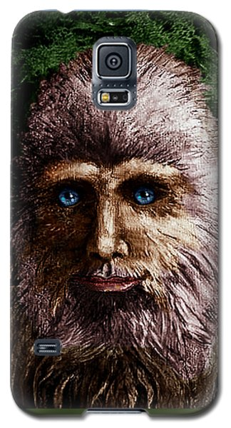Galaxy S5 Case featuring the painting Look Into My Eyes... by Hartmut Jager