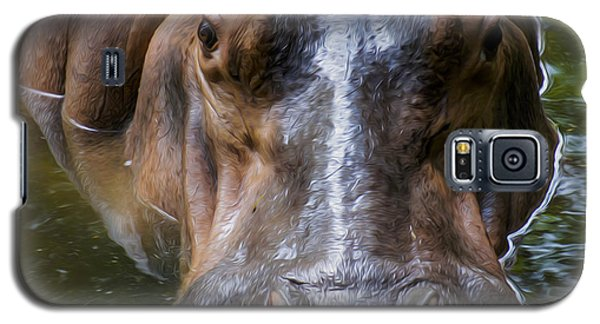 Look Me In The Eyes Galaxy S5 Case by Aged Pixel