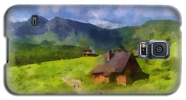 Look To The Hills Galaxy S5 Case