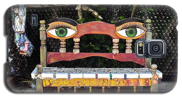Galaxy S5 Case featuring the painting Looking Bench by Dan Redmon