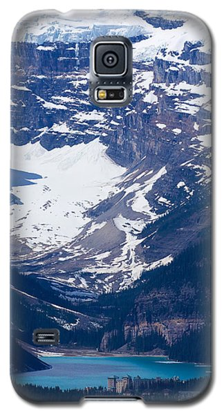 Looking Down At Lake Louise #2 Galaxy S5 Case