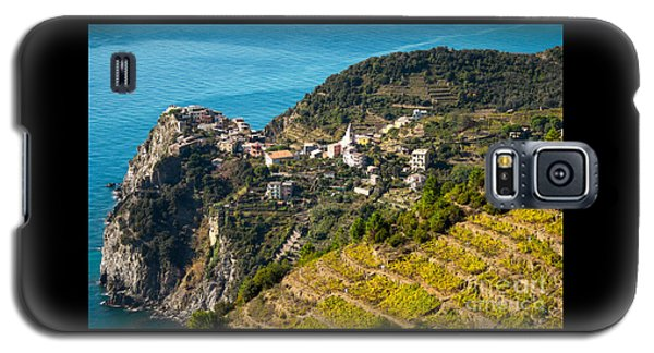 Looking Down Onto Corniglia Galaxy S5 Case