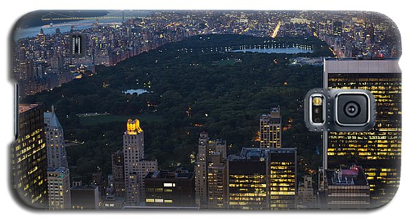 Looking From Top Of The Rock Galaxy S5 Case