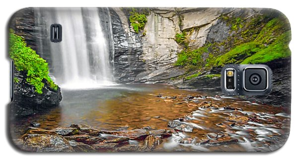 Looking Glass Falls Galaxy S5 Case by Marion Johnson