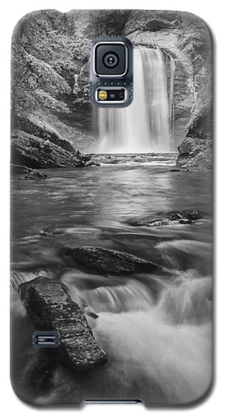 Galaxy S5 Case featuring the photograph Looking Glass Falls by Photography  By Sai