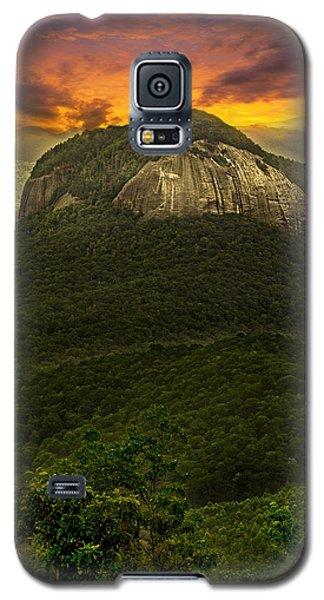 Looking Glass Rock North Carolina  Galaxy S5 Case by Gray  Artus