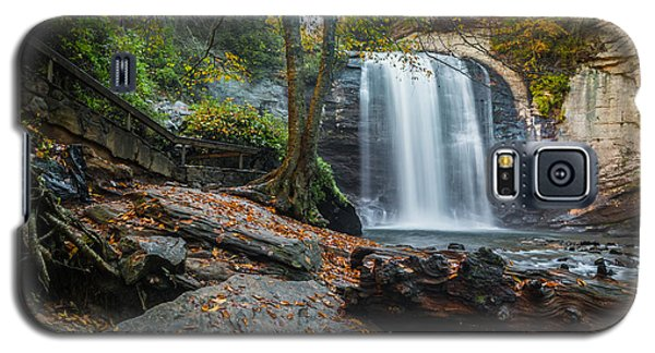 Galaxy S5 Case featuring the photograph Looking Glass Waterfall by RC Pics