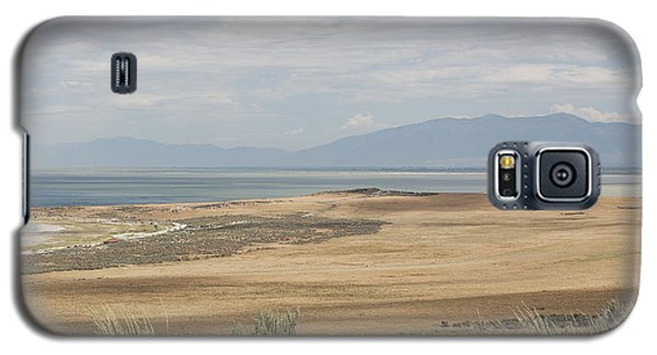 Looking North From Antelope Island Galaxy S5 Case by Belinda Greb