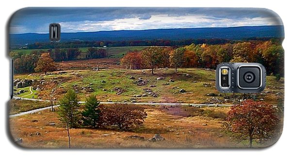 Looking Over The Gettysburg Battlefield Galaxy S5 Case by Amazing Photographs AKA Christian Wilson