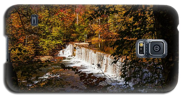 Looking Through Autumn Trees On To Waterfalls Fine Art Prints As Gift For The Holidays  Galaxy S5 Case