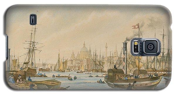Looking Towards London Bridge Galaxy S5 Case by William Parrot