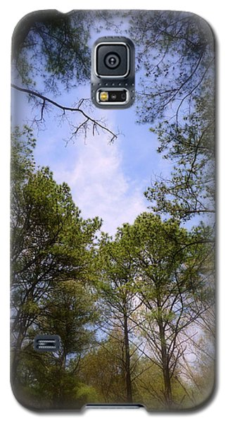 Galaxy S5 Case featuring the photograph Looking Up by Jim Whalen
