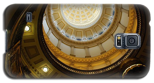 Looking Up The Capitol Dome - Denver Galaxy S5 Case by Dany Lison