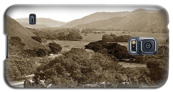 Looking Up The Carmel Valley California Circa 1880 Galaxy S5 Case