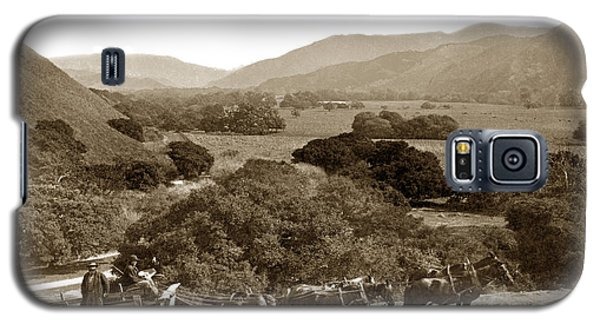 Looking Up The Carmel Valley California Circa 1880 Galaxy S5 Case by California Views Mr Pat Hathaway Archives