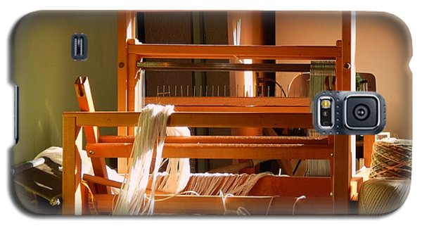 Loom In Winter Light Galaxy S5 Case by Aliceann Carlton