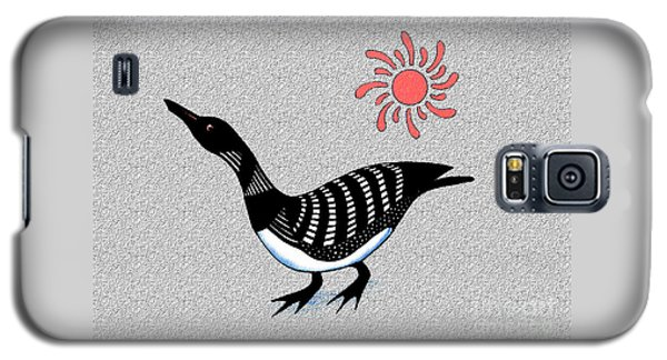 Loon And Sun Galaxy S5 Case