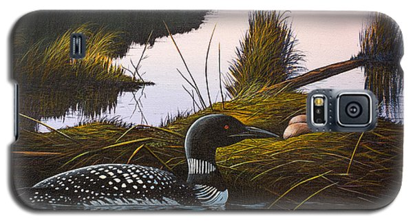 Loon Lake Galaxy S5 Case by Richard Faulkner