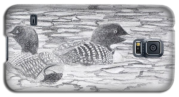 Loon Sketch Galaxy S5 Case