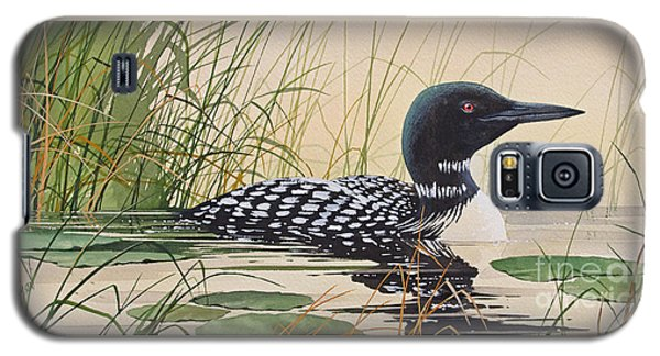 Loon Galaxy S5 Case - Loon's Tranquil Shore by James Williamson